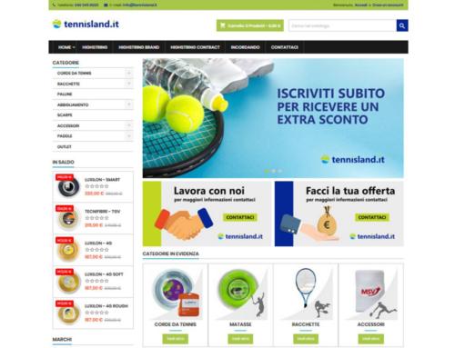 e-shop tennisland